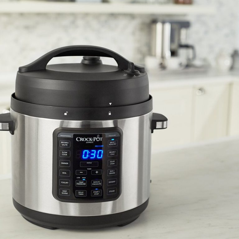 Crockpot™ Express Easy Release | 6 Quart Slow, Pressure, Multi Cooker, 6QT, Stainless Steel