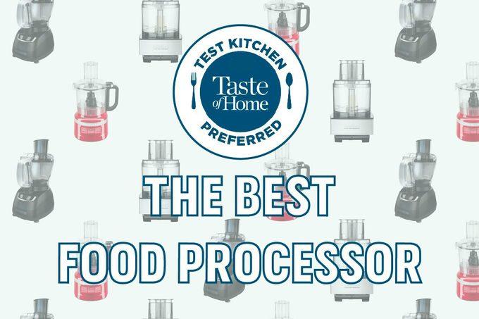 Test kitchen preferred the best food processor