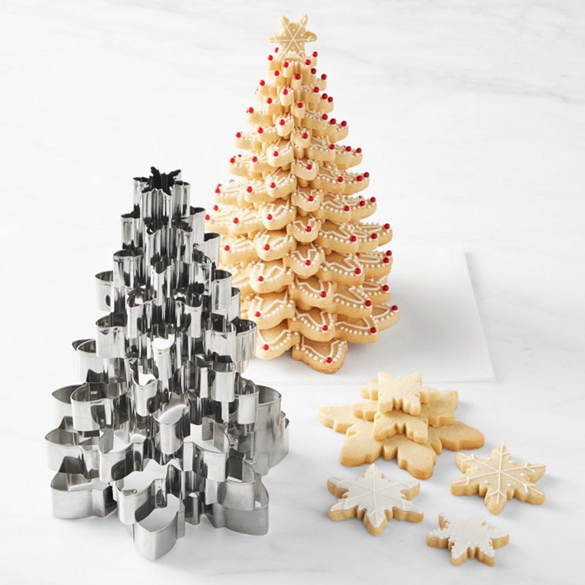 Snowflake Krasenkake Cutters, Set of 10