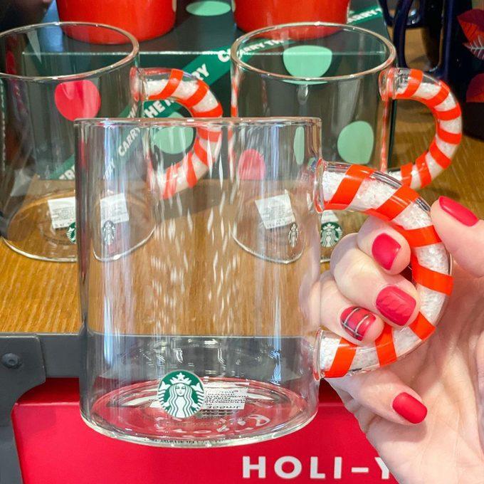 Starbucks candy cane mug
