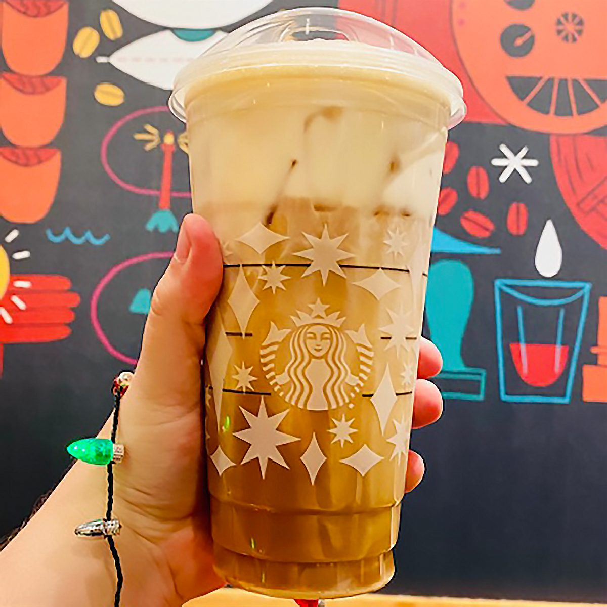 TOASTED CARAMEL BRÛLÉE COLD BREW FROM STARBUCKS