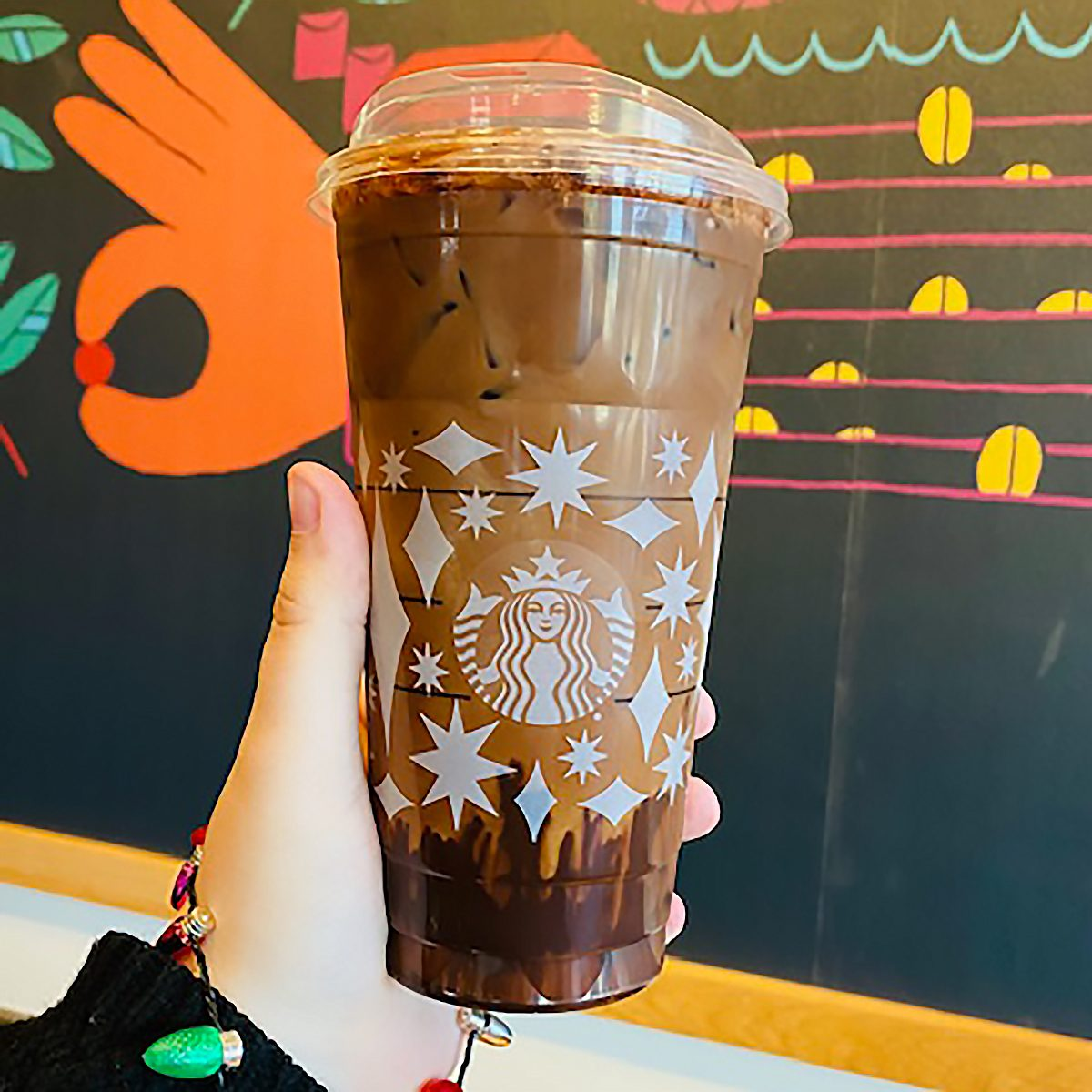 HOT COCOA COLD BREW FROM STARBUCKS