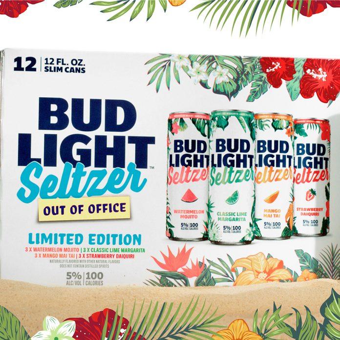 Bud Light Seltzer canned alcoholic beverages box
