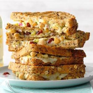 Grilled Chickpea Salad Sandwich
