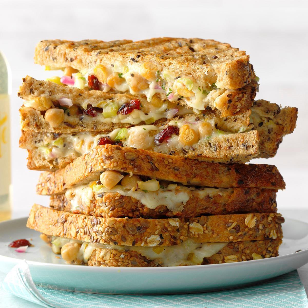 Runner-Up: Grilled Chickpea Salad Sandwich