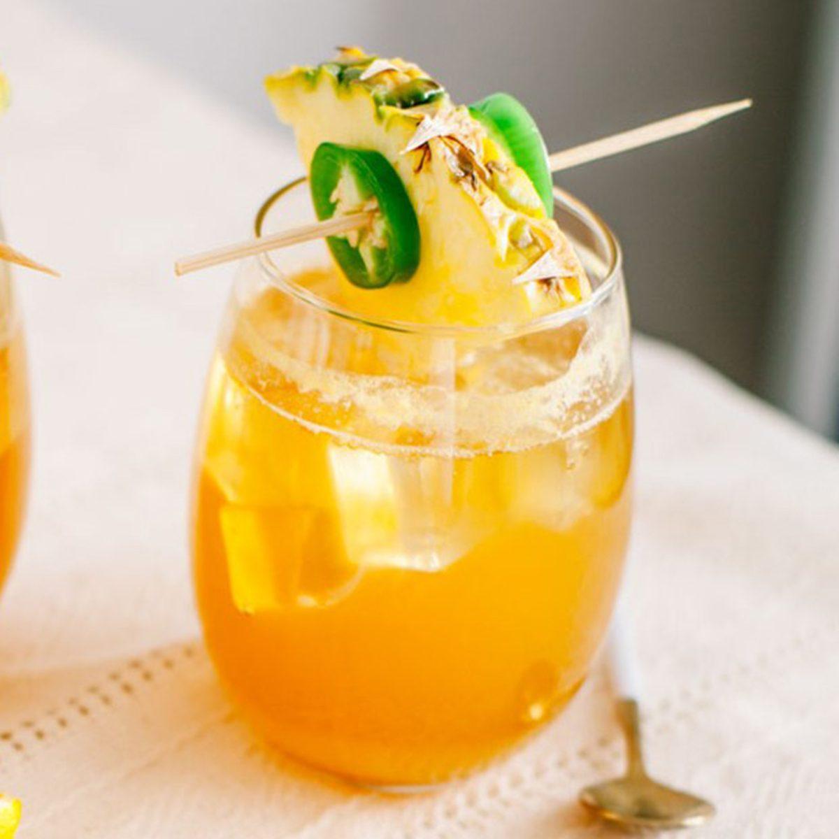 Jalapeno-Honey Pineapple Spritzer