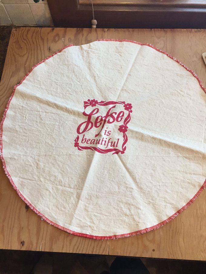 Lefse Pastry Cloth
