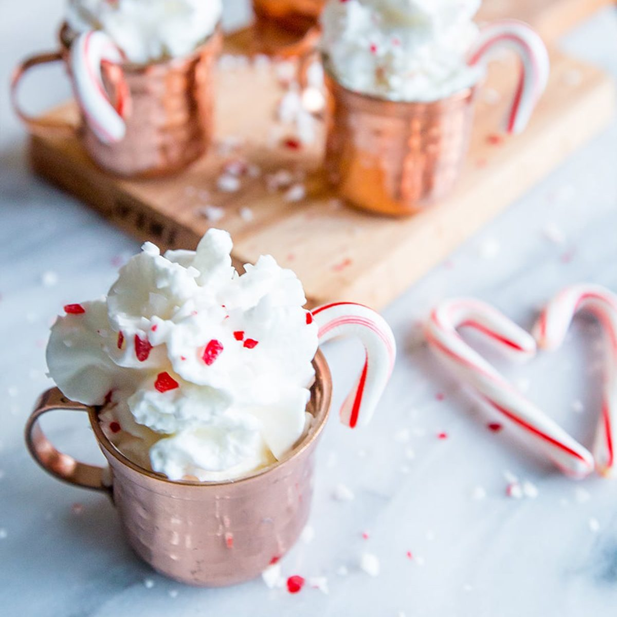 Peppermint-cocoa-shots
