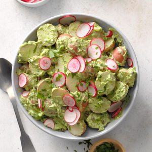 Green Goddess Vegan Potato Salad