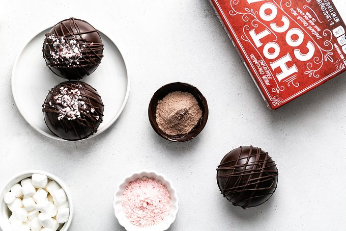 Aldi Hot cocoa bombs how to step 2