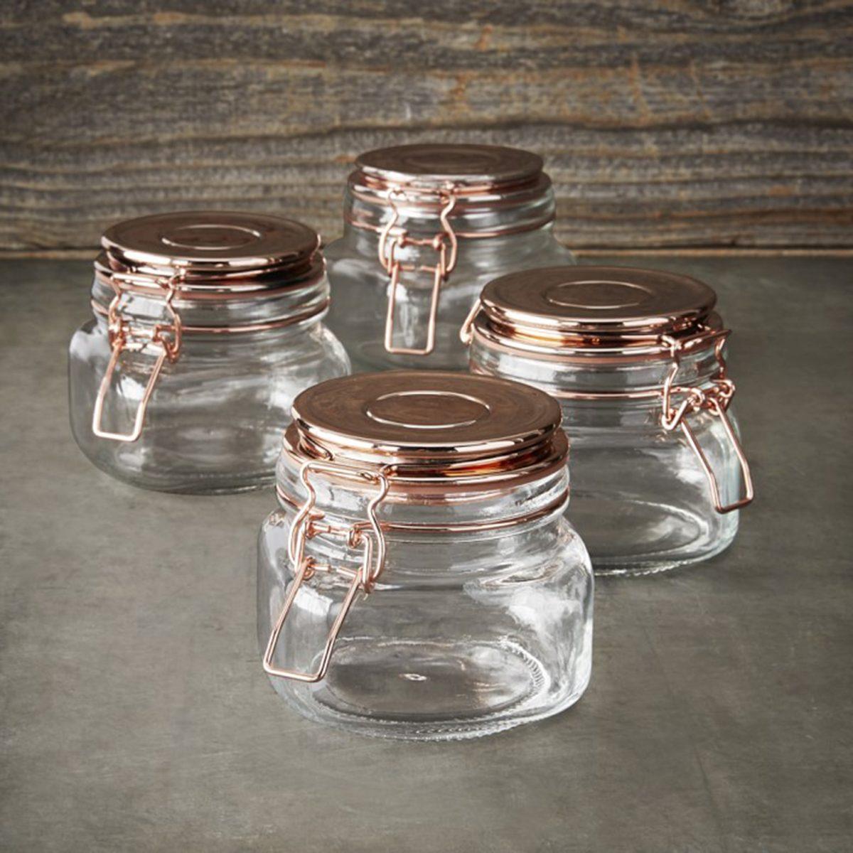 Kinetic Copper Canning Jar Set, 18oz