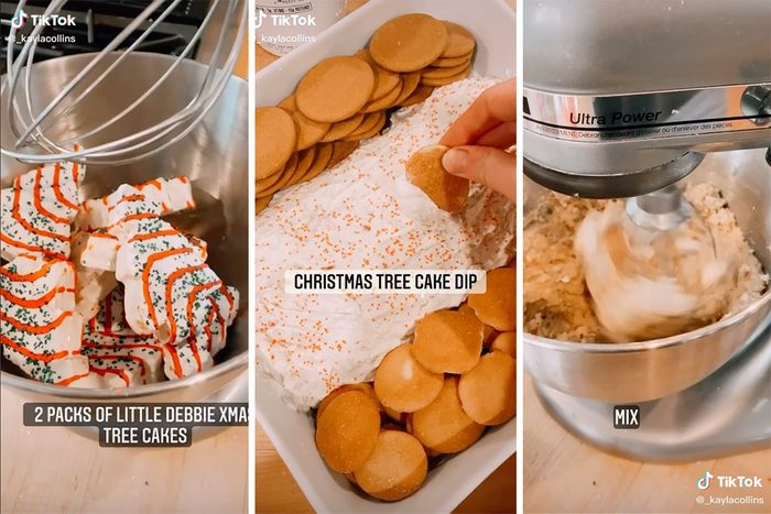 Christmas Tree cake mix