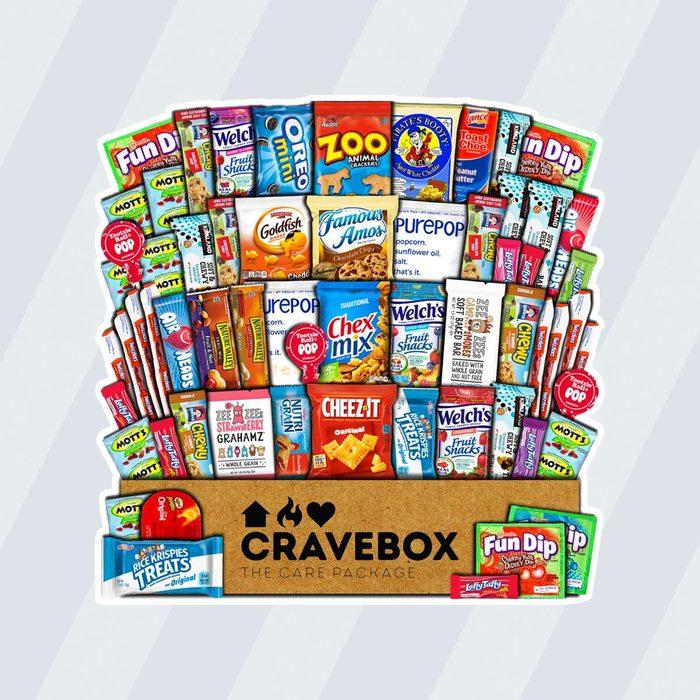 CraveBox snack subscription box