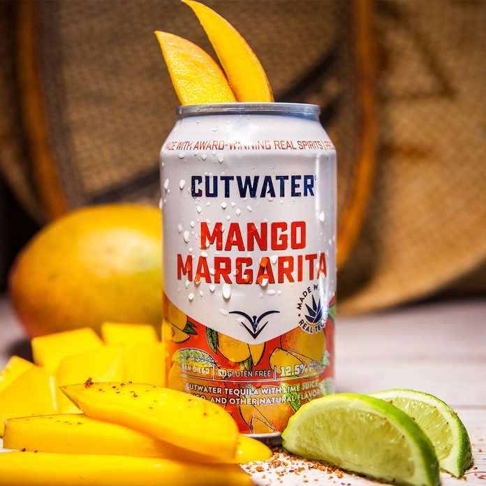 Cutwater Mango Margarita Canned Cocktail
