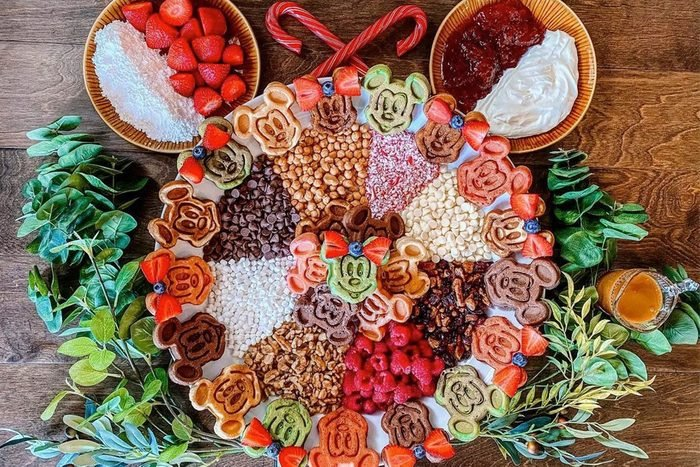Disney Holiday Charcuterie Boards