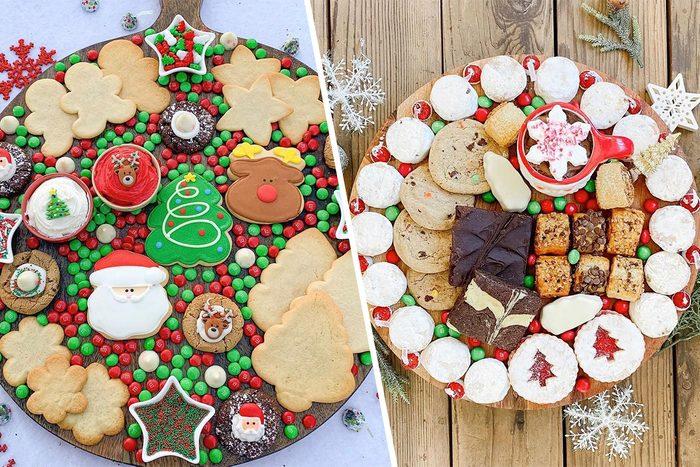 Holiday dessert boards
