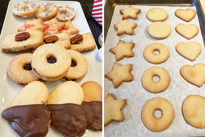 Ina Garten's shortbread christmas cookies