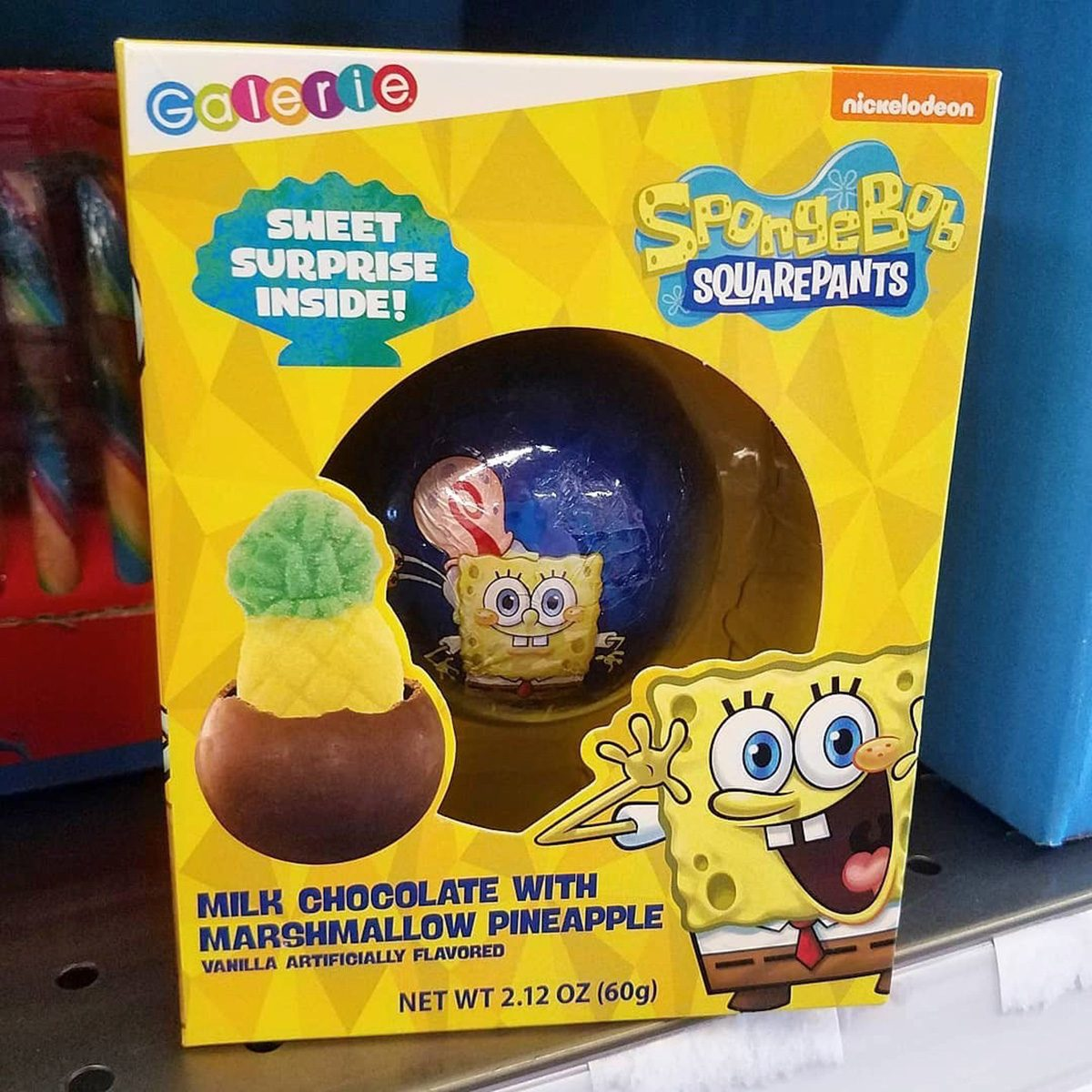 Spongebob Hot Cocoa bomb