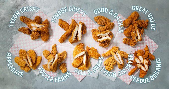 Test Kitchen Preferred the best Chicken tenders crop
