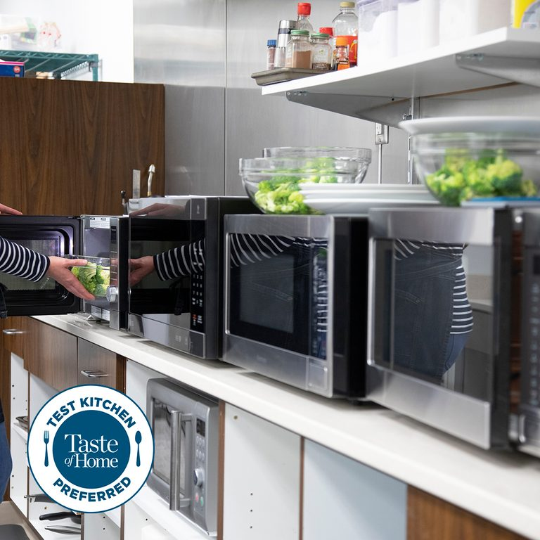Test kitchen preferred the best microwaves square