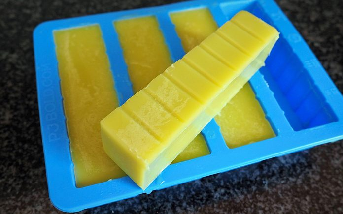 how to make cannabutter: Discard water and store