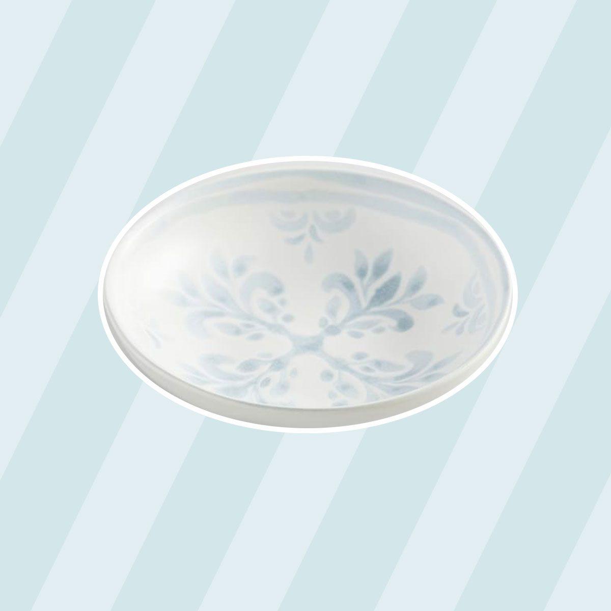 cute soup bowls Chambray Tile Stoneware Soup Bowls