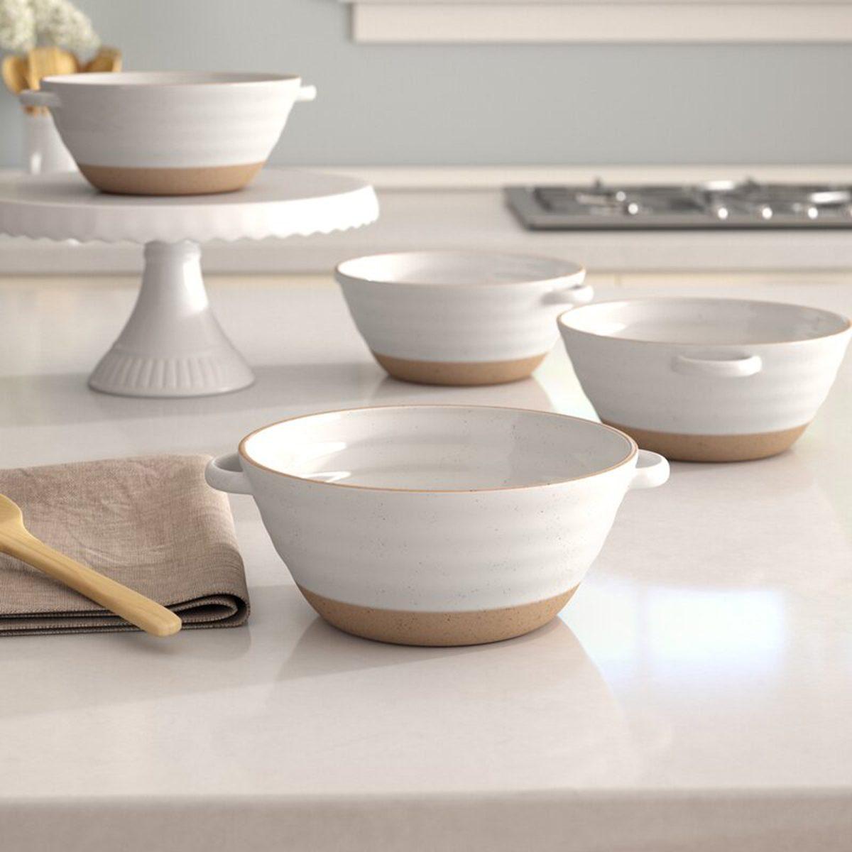 Speckled Soup Bowls cute soup bowls