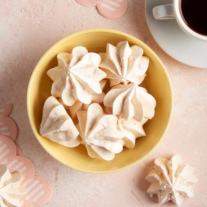 Festive Meringue Cookies