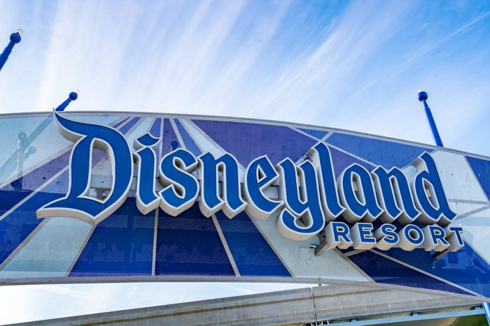 ANAHEIM, CA - NOVEMBER 21: General views of the Disneyland Resort, partially reopened for outdoor dining and shopping with new COVID-19 guidelines in place on November 21, 2020 in Anaheim, California. (Photo by AaronP/Bauer-Griffin/GC Images)