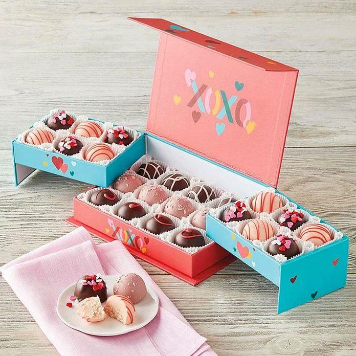 Harry David Valentines Day Truffles In Keepsake Box