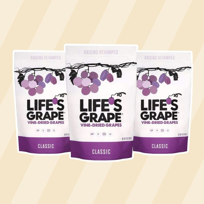kosher snacks Life's Grape Vine Dried Grapes