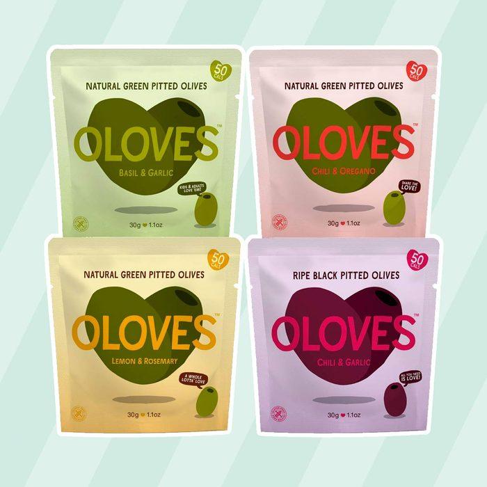 kosher snacks OLOVES Natural Whole Pitted Olives