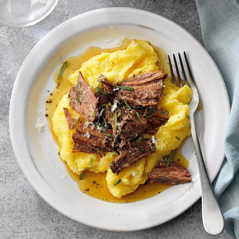 Rosemary Beef Roast Over Cheesy Polenta Exps Tohsoda21 238507 E12 11 2b