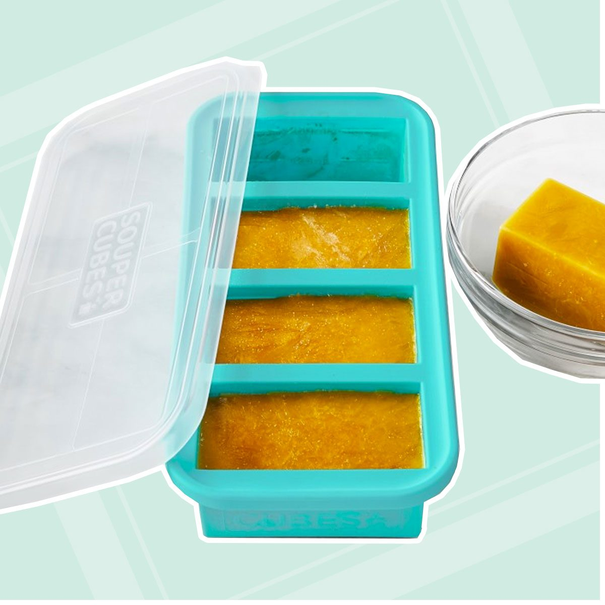 Souper Cubes Silicone Freezer Tray