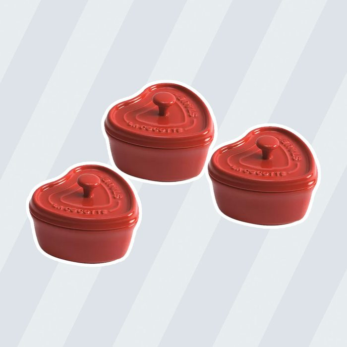 Staub Mini Heart Cocottes