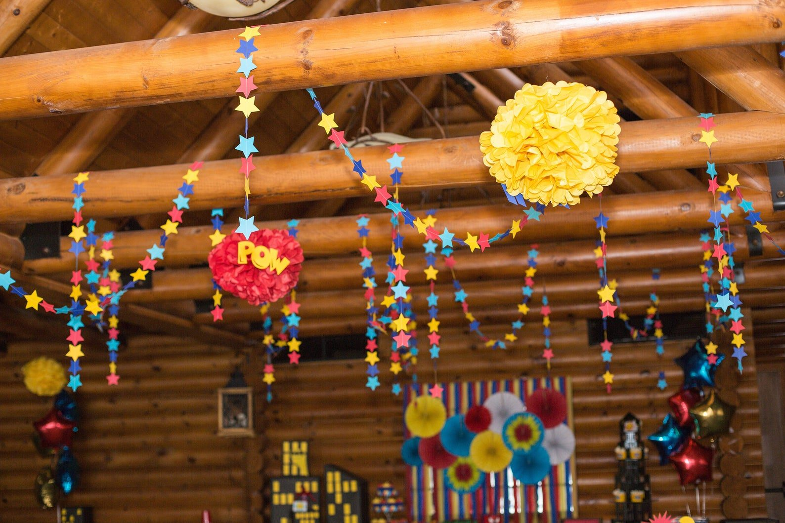 Super Hero Party Garland