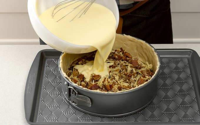 Whisk the eggs how to make quiche lorraine