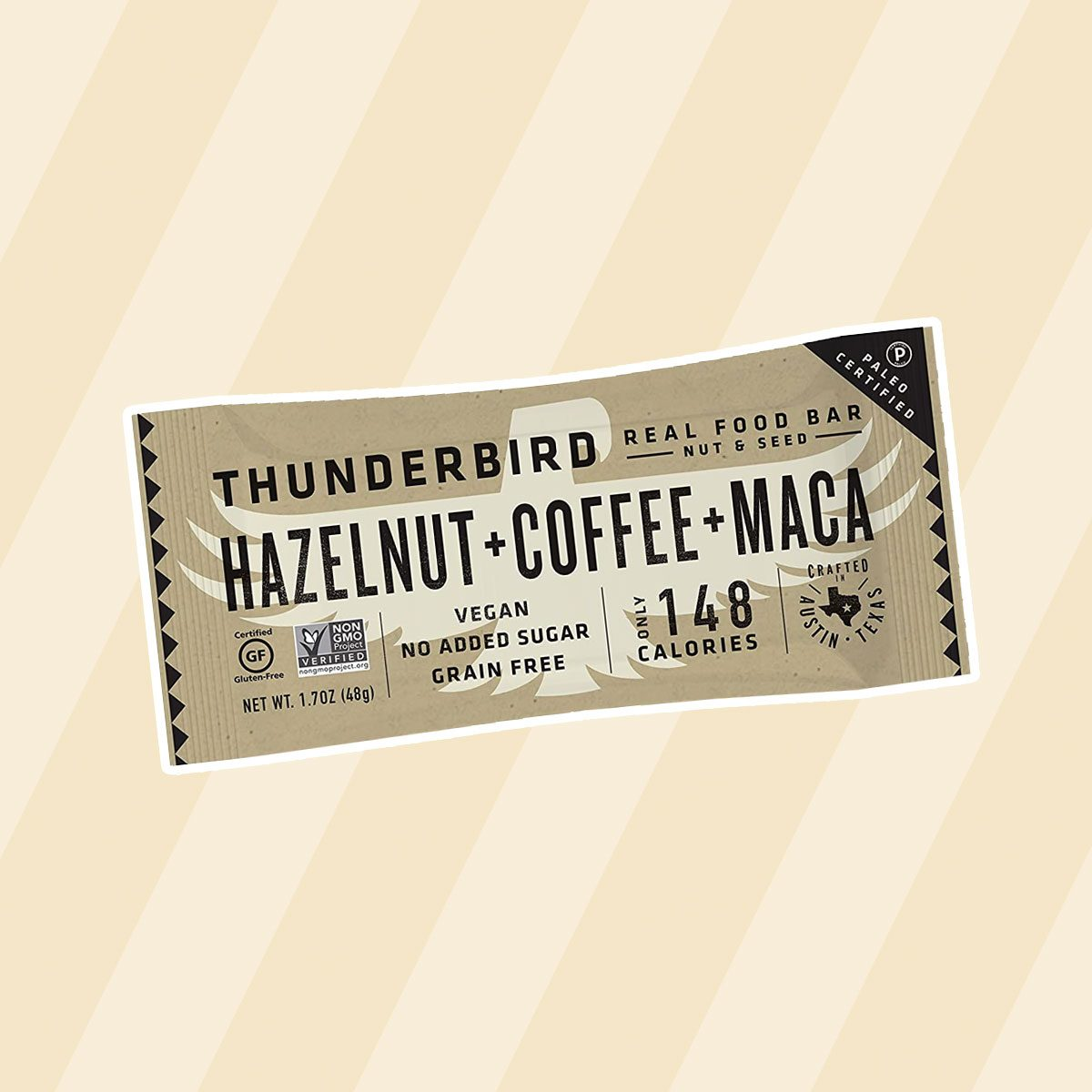 Thunderbird Hazelnut Coffee Maca Energy Bars paleo snacks