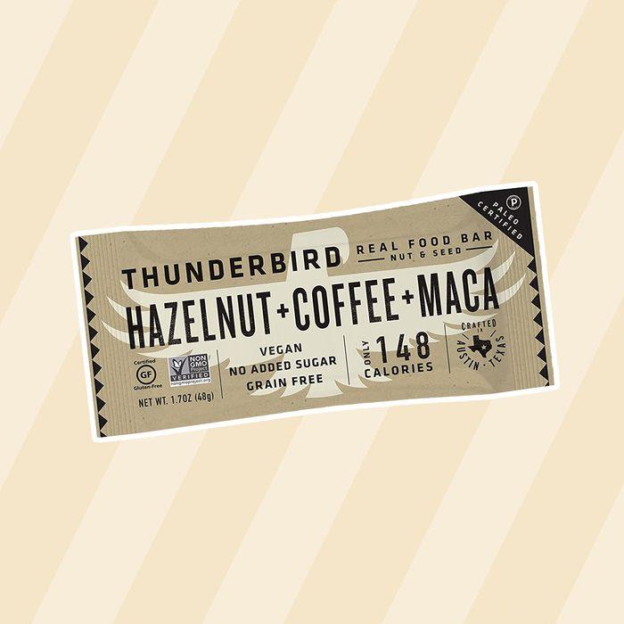 Thunderbird Hazelnut Coffee Maca Energy Bars paleo snacks