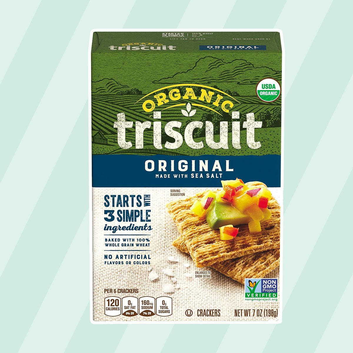 kosher snacks Triscuit Organic Original Crackers