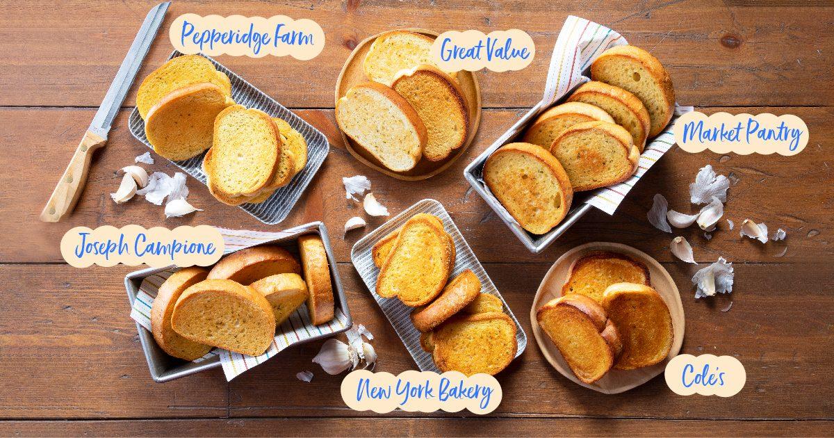 Test Kitchen Preferred the best Texas Toast crop
