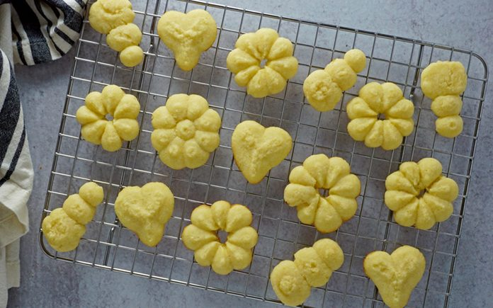 how to make butter cookies