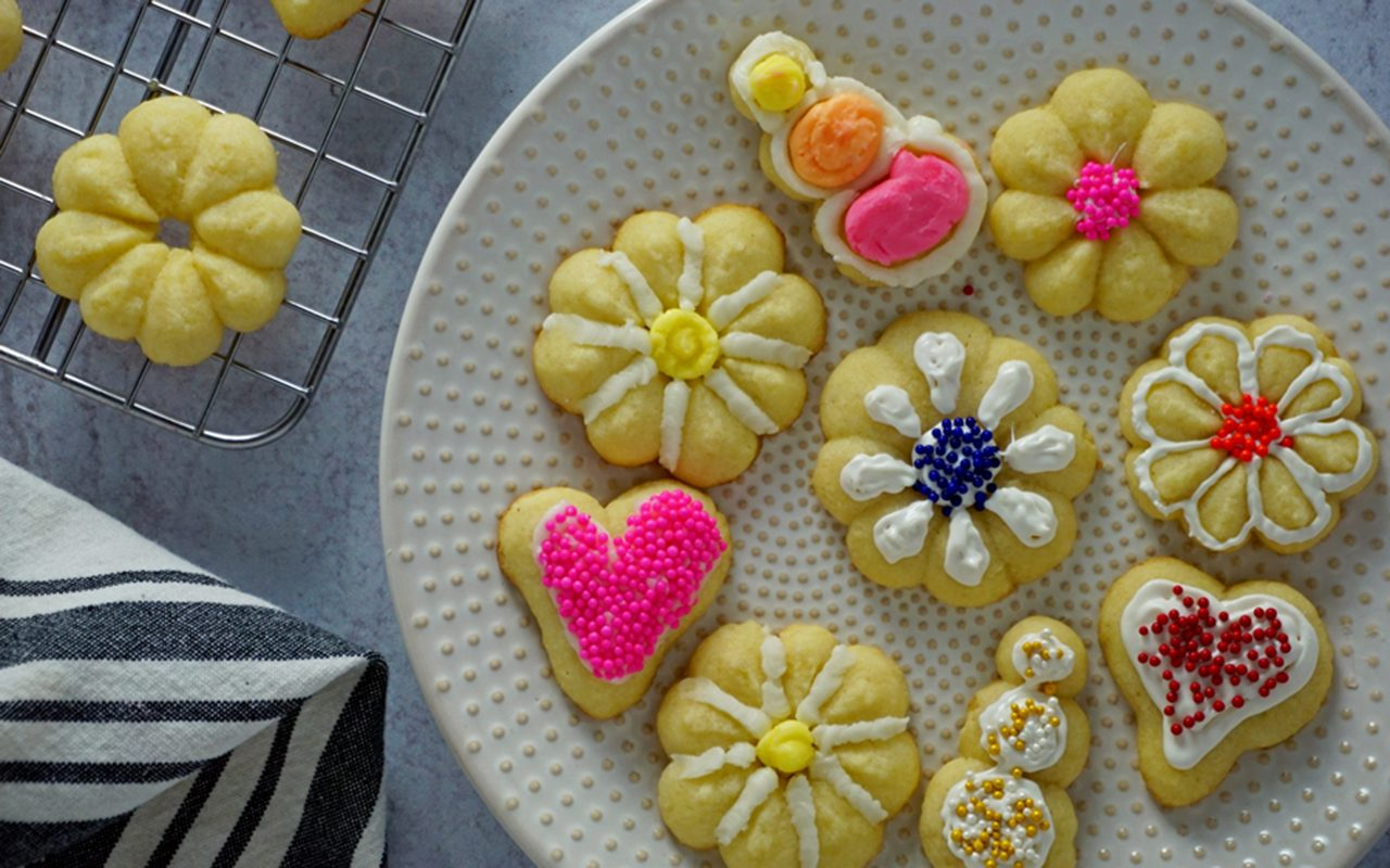 Decorate Butter Cookies how to make butter cookies