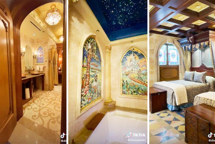 Tour of the Cinderella Castle at Disney