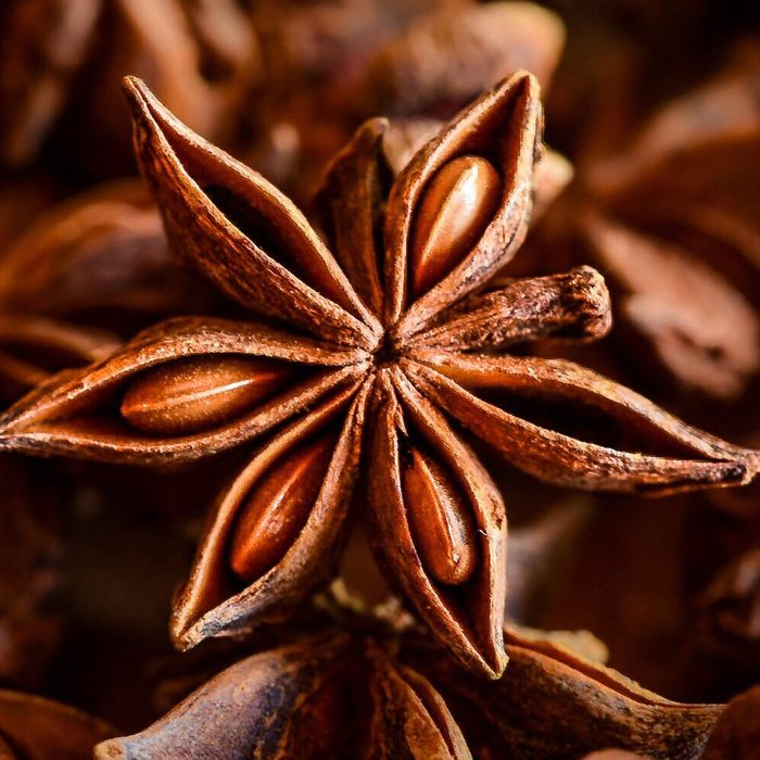 indian spices Close-Up Of Star Anise