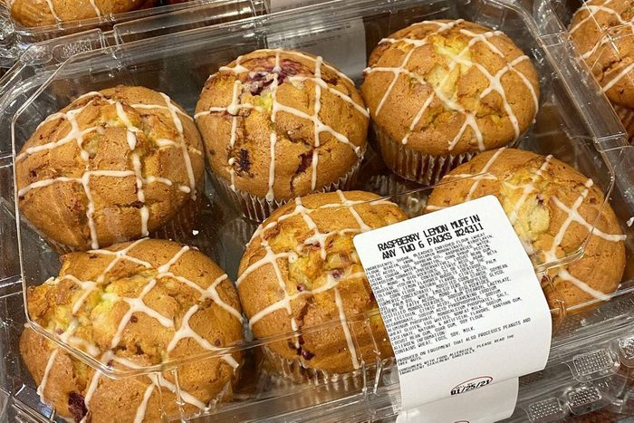 Costco Lemon Raspberry Muffins
