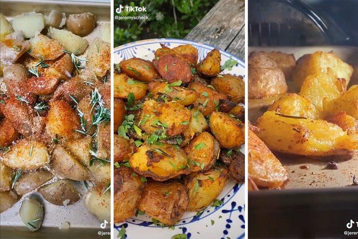 Crispy Potatoes Tiktok Hack