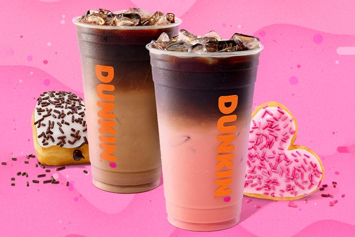 Dunkin's Valentine's Day Macchiatos