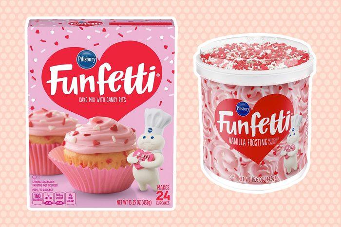 Pillsbury Valentine's Funfetti products