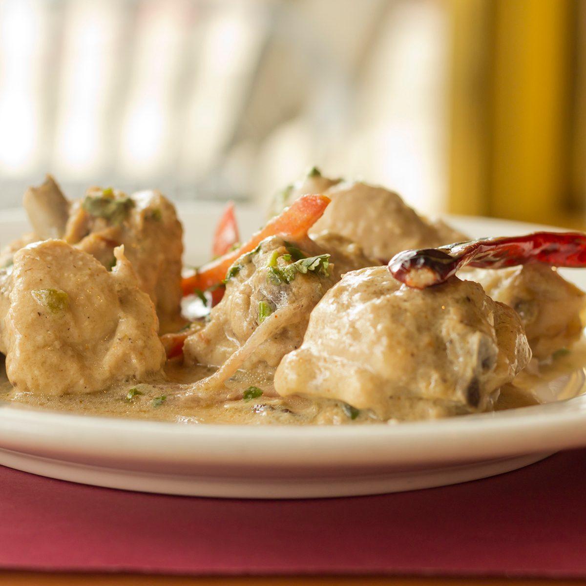 indian main dishes Indian Mughlai Chicken